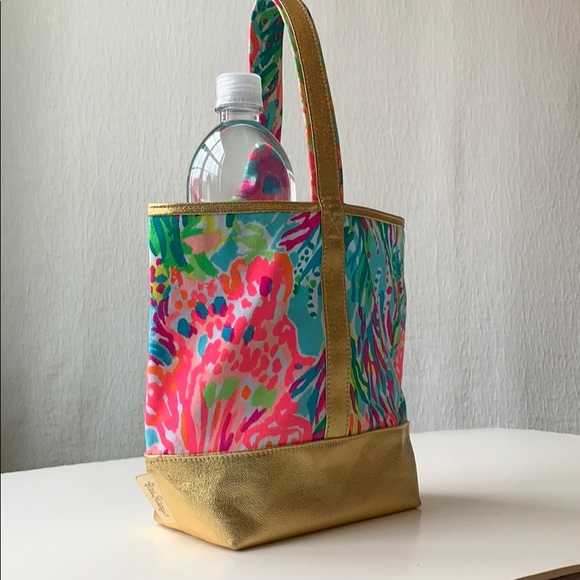 Lilly Pulitzer 2 bottle wine tote